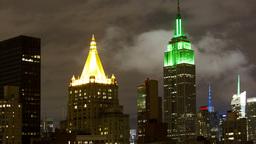 Manhattan Skyline Empire State Building stock footage