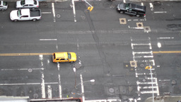 traffic manhattan nyc new york taxi Footage