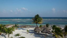 paradise beach caribbean mexico Footage