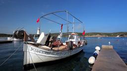menorca boat01 Footage