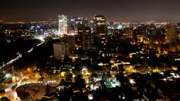 mexico DF skyline city urban skyscrapers Footage