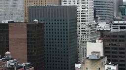 new york manhattan skyline usa 4k Footage