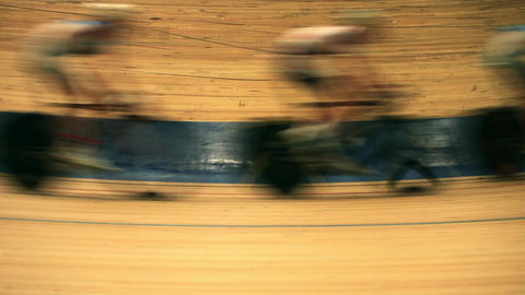 bicycle race motion blur Live Action