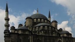 yeni cami mosque istanbul Footage