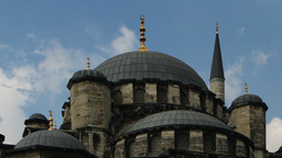 yeni cami mosque in istanbul Footage