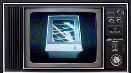 television and video static distortion Footage