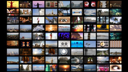 multimedia technology computer video screens information data television Footage