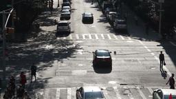 street scene traffic new york manhattan Footage
