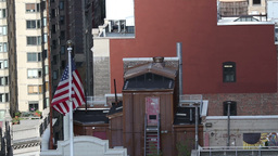 rooftops new york manhattan NYC ny timelapse Footage