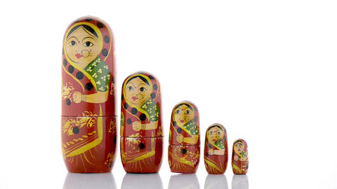 Russian dolls Footage