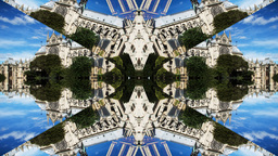 kaleidoscope pattern, paris france Footage