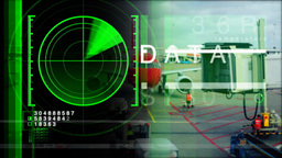 Radar Data09 stock footage
