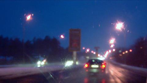 night drive 2 Stock Video Footage