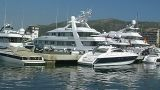 Motor yachts Footage