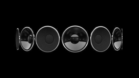 Disco Speaker AB1 HD Animation