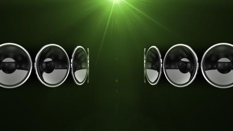 Disco Speaker AC1 HD Stock Video Footage