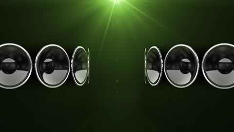 Disco Speaker AC1 HD Stock Video Footage