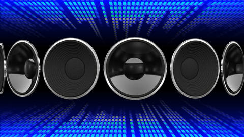 Disco Speaker AD1 HD Stock Video Footage