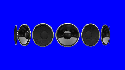 Disco Speaker AM1 HD Animation
