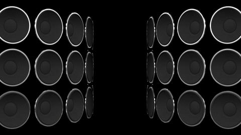 Disco Speaker BB5 HD Stock Video Footage