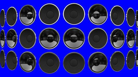 Disco Speaker BM1 HD Stock Video Footage
