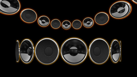 Disco Speaker CC1 HD Animation