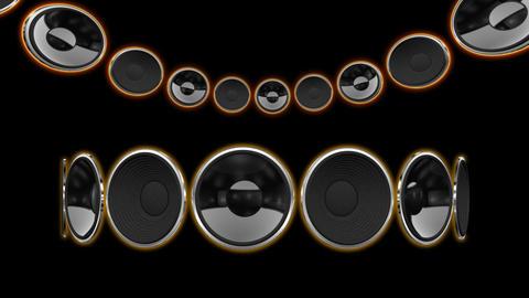 Disco Speaker CC1 HD Stock Video Footage
