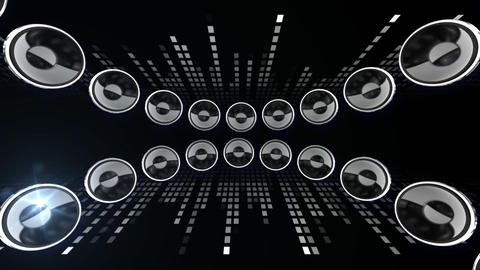 Disco Speaker CL1 HD Stock Video Footage