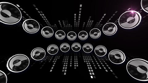 Disco Speaker CL1 HD Animation