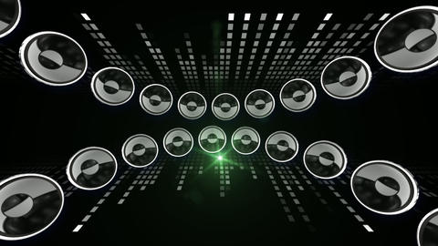 Disco Speaker CL1 HD Stock Video Footage