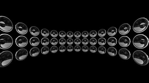 Disco Speaker DB1 HD Stock Video Footage