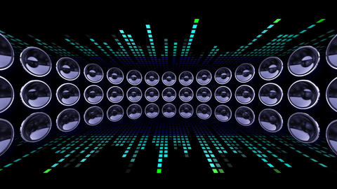 Disco Speaker DC1 HD Stock Video Footage
