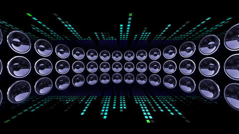 Disco Speaker DC1 HD Animation