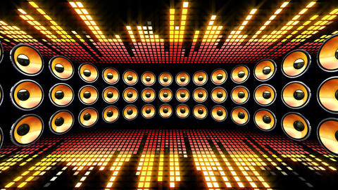 Disco Speaker DL1 HD CG動画