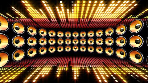 Disco Speaker DL1 HD Stock Video Footage