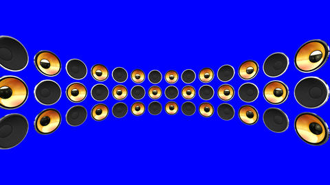 Disco Speaker DM2 HD Stock Video Footage