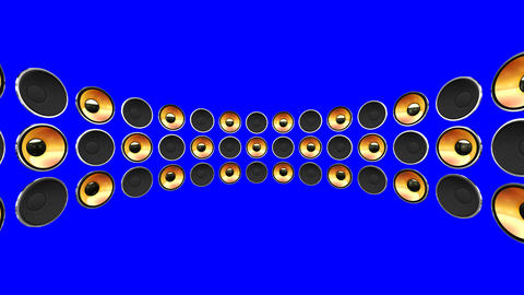 Disco Speaker DM2 HD Animation