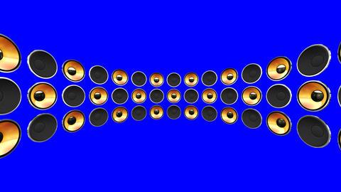 Disco Speaker DM2 HD Stock Video Footage