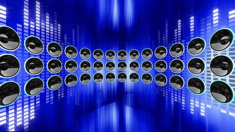 Disco Speaker DR2 HD Stock Video Footage