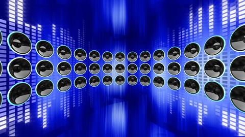 Disco Speaker DR2 HD Animation