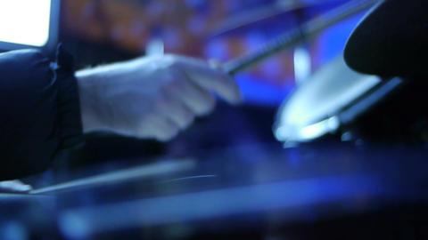 Drum Kit CU 02 Stock Video Footage