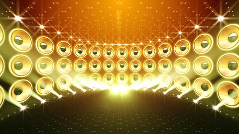 Disco Speaker DW4 HD Stock Video Footage
