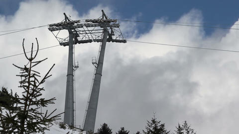 Cableway Stock Video Footage