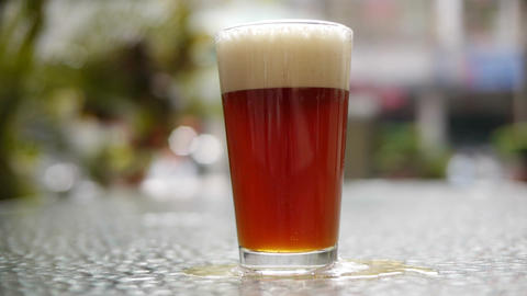 Beer Pour 03 Stock Video Footage