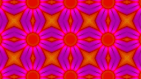Psychedelic Kaleidoscope 03 Stock Video Footage