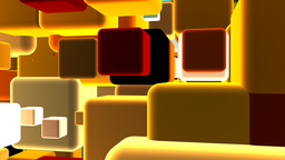 3d Cubes Background Animation
