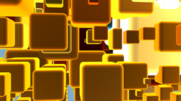 3d Cubes Background Stock Video Footage