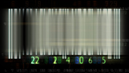Bar code flashing and animated random numbers,sound included Animation