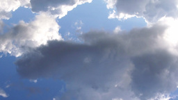 Clouds day time timelapse Stock Video Footage