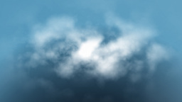 Clouds fly trough loop Stock Video Footage
